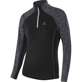 Löffler Bea Transtex Sweater met Rits Dames, black